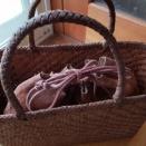 山葡萄のバッグ、安心と安全