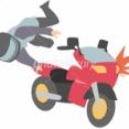 新宿区でバイク転倒させ立ち去る女性は誰か顔写真を5ch特定か