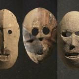 9000年前に作られた「石仮面」、旧石器時代から見つめるその不気味な眼差し