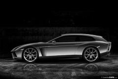 【ランボルギーニ】V12エンジンFRモデルのコンセプトカー