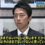 『【ポスト安倍】自民党支持層では石破茂と小泉進次郎の二択に…世論調査』の画像