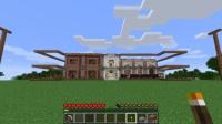 大邸宅の外装と屋根を作る