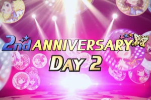 【ミリシタ】2nd ANNIVERSARY DAY2!本日は真美、星梨花、エミリー、静香!