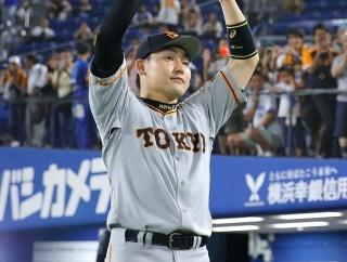 巨人丸佳浩、1人4連覇達成。原監督は優勝決定時に涙を流す。