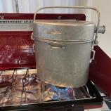『フランス軍分隊用飯盒 ル・ブテオンによる炊飯』の画像
