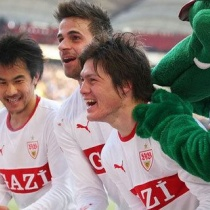 UEFA-ELプレーオフ2nd 岡崎慎司と酒井高徳、ともにフル出場! シュトゥットガルトが本大会へ