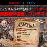 『pixiv_サンディスク『武器屋の店番』募集コンテスト』の画像