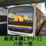 『総武本線 車窓[下り・2]八街→旭』の画像