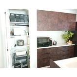 『『暮らし方の提案 隠す収納と見せる収納 キッチン収納編』By中西    2021.02.19』の画像