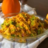 『ハロウィンに最適!かぼちゃとブロッコリーのサラダと洗濯機の奥から出て来たもの』の画像