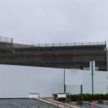 『店舗外観に薄っすらとコストコのロゴが見えた!イトヨー跡地のコストコ建設工事進捗 - 2017年6月』の画像