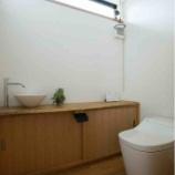 『泡で液ハネ汚れ防止!自動洗浄トイレ PanasonicアラウーノSII』の画像