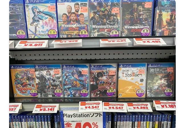 トイザらス全店、PS4ソフト全品40%オフのセールを実施!