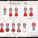 『狐面考・番外編/駒狐の前掛けのお話』の画像