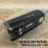 『WISMEC SINUOUS V80 80W TC MOD・スケルトンデザインでメッチャ軽い!』の画像