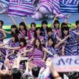 『【乃木坂46】今の西野七瀬が2列目で踊ってるガールズルール好きすぎる・・・』の画像
