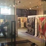 『日本の文化・美しい着物の展示会が日曜日まで戸田市文化会館で開催。上戸田商店会のきもの三京さん。京都・西陣の老舗「千總」の着物取扱を許された着物商です。』の画像