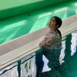 『【乃木坂46】プールでびしょ濡れの筒井あやめ・・・新たなオフショットが公開!!!』の画像