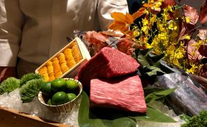 台湾の「THE UKAI」で誕生日ディナー