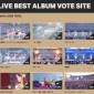 現在投票中のLIVEアルバムですが、TOP12に同一曲が含ま...