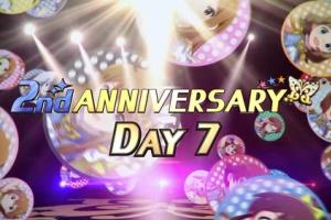 【ミリシタ】2nd ANNIVERSARY DAY7!本日は可憐、海美、亜利沙、恵美!&ホワイトボードが七夕仕様に!