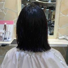 表参道 神宮前 東京 都内で美髪パーマが得意な美容室MINX原宿☆須永健次☆バッサリ、前下がりボブにカットからのナチュラルなしっかりめパーマをかけてみました