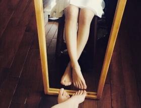 大島優子の美脚ショットがすばらしいと話題に