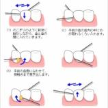 『歯の大掃除は終わりましたか?』の画像