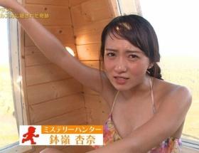 「世界ふしぎ発見!」ミステリーハンター・鉢嶺杏奈のびしょ濡れ水着姿取材がエロすぎると話題に