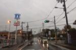 台風19号が迫りつつあったPM4:00頃の交野市内のようす