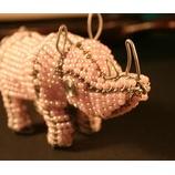 『パールピンクのゾウ、サイ。』の画像