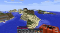 北大陸に旧灯台を作る