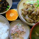 『今日のあべQ(豚肉と白菜の炒め物)』の画像