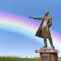 18774月16日は、クラーク博士が、有名な言葉「ボーイズビ―アンビシャス」を残して帰国した日。