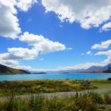 『テカポ湖の本気を見た!なんだこの青さは!』の画像