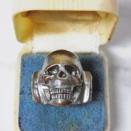 1940'S-1950'S Skull ring
