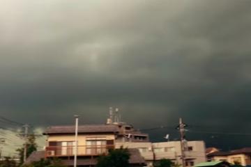 超大型台風を目の前にした外国人のリアル