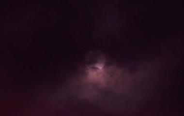 『部分日食(2020年6月21日16:26JST)』の画像