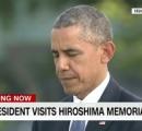 【画像】オバマ大統領 広島の平和公園で原爆慰霊碑に献花