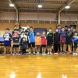 『新春★お楽しみ卓球大会』の画像