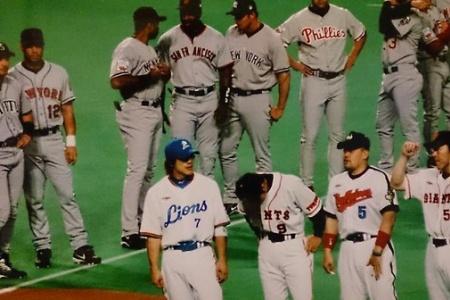 日米野球のこの画像wwwwwwwwww alt=