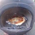 アウトドアクッキング「秋の味覚ピザ」