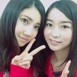 『【乃木坂46】SKE48北川綾巴 佐々木琴子と2ショット!『たまに似てるって言われる佐々木琴子さんと撮ってもらいました♪』』の画像