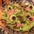 パスタ番長の『まるごとカマンベールチーズパスタ』の夜ごはん。