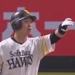 長谷川勇也さん、打球の操作を試みる