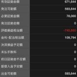 『2020年3月17日に岡三証券CFDに緊急に50万円入金しました。』の画像