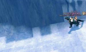 タイル状に氷?が敷き詰められたピシスの大雪原