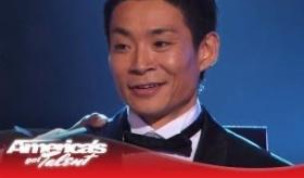 【テレビ】  世界が驚愕!!日本人ダンサーの 蛯名健一 さんが 「アメリカズ・ゴット・タレント」  で優勝し 100万ドル(約一億円)を獲得する。
