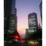『新宿の夕暮れ』の画像
