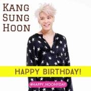 『【#HAPPY_HOONYDAY】カン・ソンフン様、お誕生日おめでとうございます!』の画像